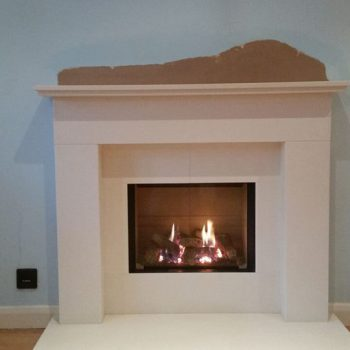 Belmore fireplace and Riva 2 500 gas
