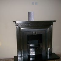 Cast Iron Fireplace solid fuel